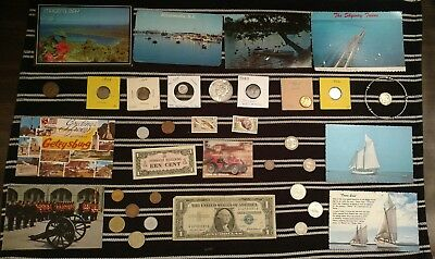 Junk Drawer Lot: Old US Coins, Silver coins, 1923 Peace Silver Dollar VINTAGE +
