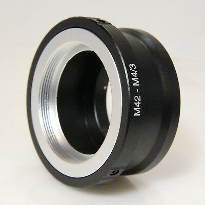 M42-M43 Adapter M42 Thread Lens to Micro Four Thirds Mount to M42-M4/3 (M42M43G)