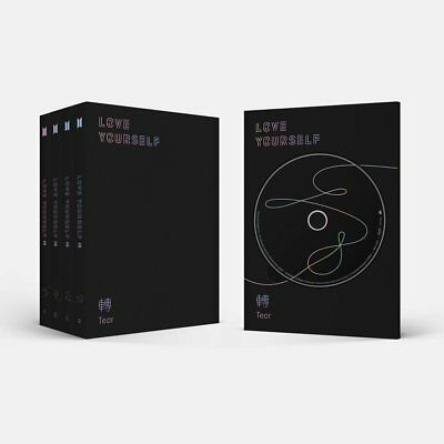 BTS - 3rd LOVE YOURSELF 轉 'TEAR' [O ver] +CD+Photocard+Gift Extra Set(USA)