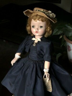 Vintage Madame Alexander 1950's Cissy Doll All Original Cocktail Outfit