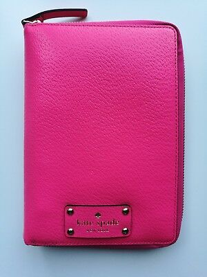KATE SPADE Caberet Pink Wellesley Zip-Around Planner