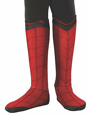 Spider-Man Homecoming Spiderman Child Costume Boot Tops