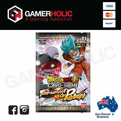 Dragon Ball Super Card Game The Tournament Of Power Themed Booster Box