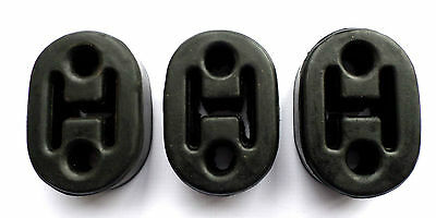 3 x Nissan Micra 1.0i 1.2 16v Rubber Exhaust Mounts Support Hanger Heavy Duty