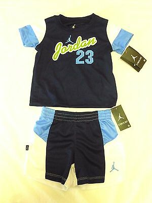Nike Michael Jordan Shirt Shorts 2 Piece Set Size 12 Months Nwt $44