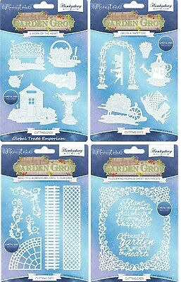 Hunkydory - Moonstone HOW DOES YOUR GARDEN GROW Bundle - ALL 4 Latest Die Sets!