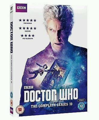 Doctor Who The Complete Series 10 DVD Brand New & Sealed Region 24.8 average ba