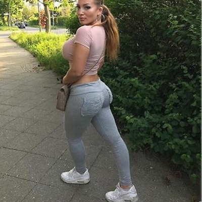 Hot Sexy Women Sport Pants Leggings Elastic Gym Fitness Workout Running Trousers