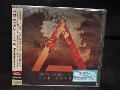 FROM ASHES TO NEW The Future JAPAN CD Trivium U.S. Nu/Alternative Metal/Rap Rock