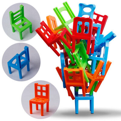 New Charm Balance Chairs Board Game Children Educational Toy Balance GUT