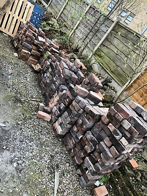 Reclaimed Bricks from glossop houses.