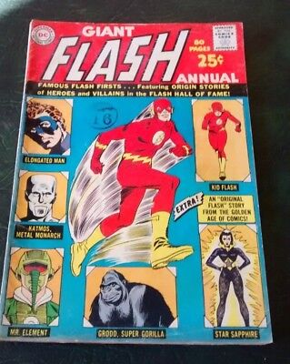 Giant Flash DC Annual 1963