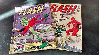 2 x The Flash DC Comics 1963