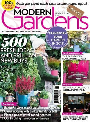 Modern Gardens Magazine January 2018 ~ New ~
