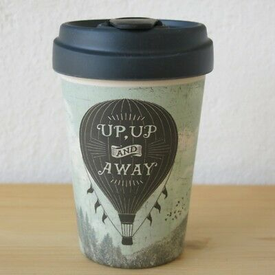 Bamboo Cup Coffee To Go Becher Bambus I Choose To Be Happy 12 38
