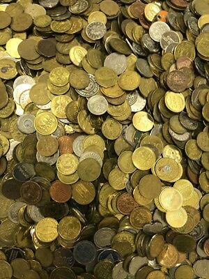 65 Pounds Of Mixed Tokens Lot 3