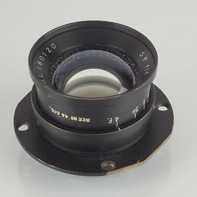 Ross 5 inch f4 wide angle Air Ministry lens