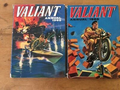 VALIANT Annual X 2 1965 and 1966