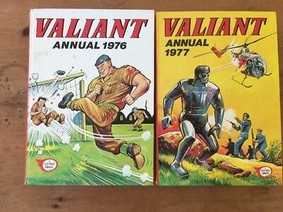 VALIANT Annual X 2 1976 and 1977