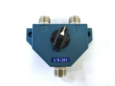 Two Position Coaxial Antenna Switch