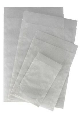 LINDNER pure Glassine Envelopes x500 - Choice of sizes