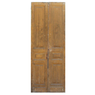 Salvaged Door Pair from France, 19th Century, NED846