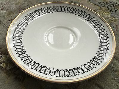 "Vintage Wedgwood Susie Cooper ""Colosseum"" English Bone China 6"" (15cm) Saucer"