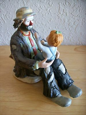 "Emmett Kelly JR. ""The Emmett's Fan"" Figurine"