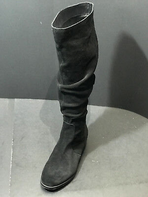 6d304794deb Steve Madden Womens Beacon Knee High Slouch Suede Boots Shoes Size US 7 M
