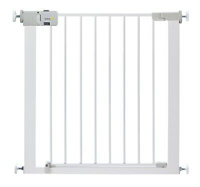 Close Metal Gate,Safety Baby Toddler Simply Close Door Pressure White 4.4 Kg