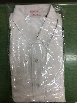 Vintage NOS Grant English Tab Dress Shirt size 16-34