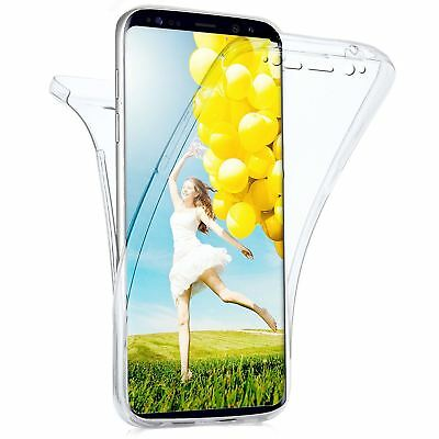 Coque housse etui 360° silicone integrale pour Samsung Galaxy S8 Protection