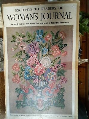 Woman's Journal Queen Mary's Carpet Needlepoint Kit