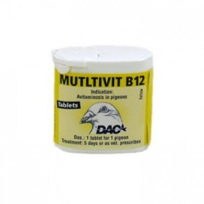 Pigeon Product - Multivit B12 by DAC - Racing Pigeons