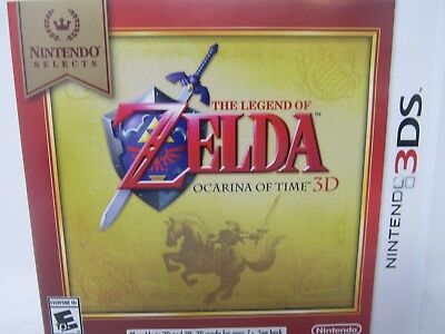 Nintendo Selects: The Legend Of Zelda Ocarina Of Time 3D For 3DS