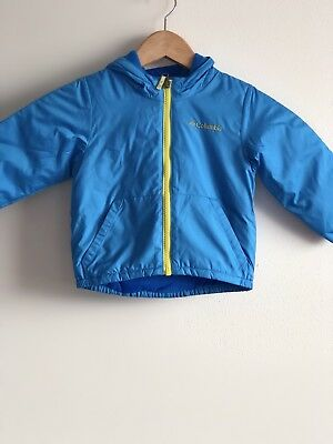 COLUMBIA NWT Toddler Boys' 2T Kitterwibbit™ Dinosaur Water Resistant Jacket