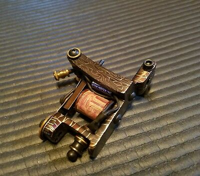 Mosaic Damascus Shader tattoo machine by June bug