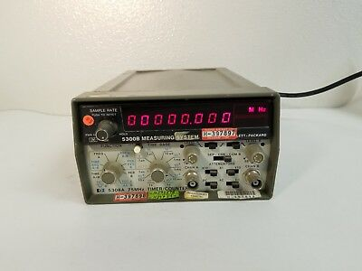 HP 5300B Measuring System Frequency Counter