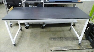 "30"" X 72"" X 33"" Tall Composite Top Laboratory Work Bench/table"