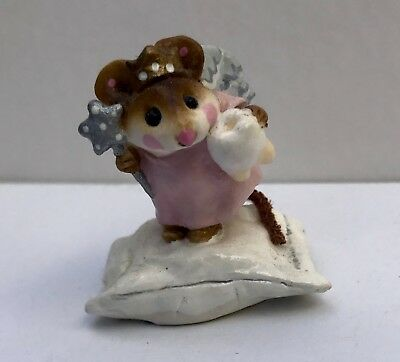 Wee Forest Folk M-148 Tooth Fairy in PINK Collector's Item Great condition