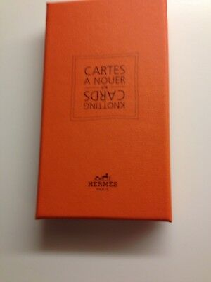 HERMES Knotting Cards How to Tie a Scarf Box of 22 cards