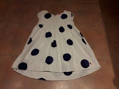 Little Joules girl's dress age 6 Spring / Summer polka dot, party, classic
