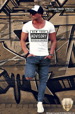 4d9137d2 Cool Mens T-shirt New York Urban Street Style Fashion Top NYC Graphic Tees  MD465