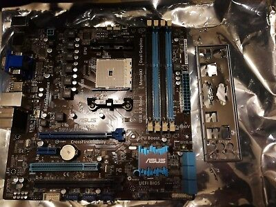 Asus F2A55-M  AMD Socket  with I/O Shield *New but not tested*