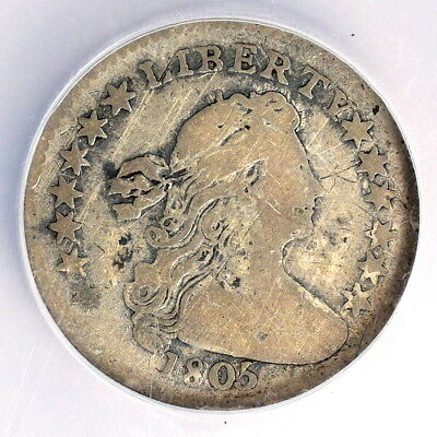 1805 Draped Bust Half Dime - Ngc Fine Details - Priced Right!
