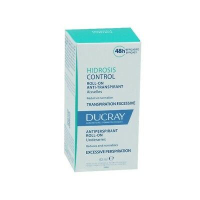 Ducray Hidrosis Control Roll-On Anti-Transpirant Aisselle 40ml