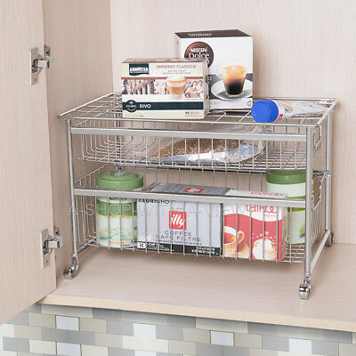 Pull Out Organizers 3s Under Cabinet Storage Sliding Basket