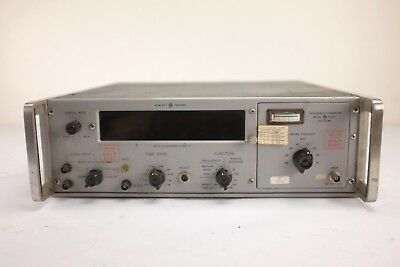 Vintage HP 5243L Electronic Frequency Counter with 20-100MC Frequency Converter