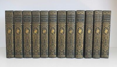 THE WORKS OF JOHN RUSKIN ~ Illustrated Cabinet Edition In 25 Volumes ~ 1890