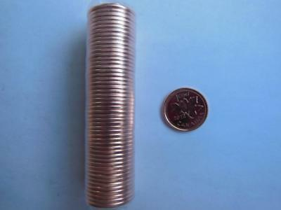 1-2012 Roll Copper Plated Steel Canadian Penny Very Rare Magnetic!